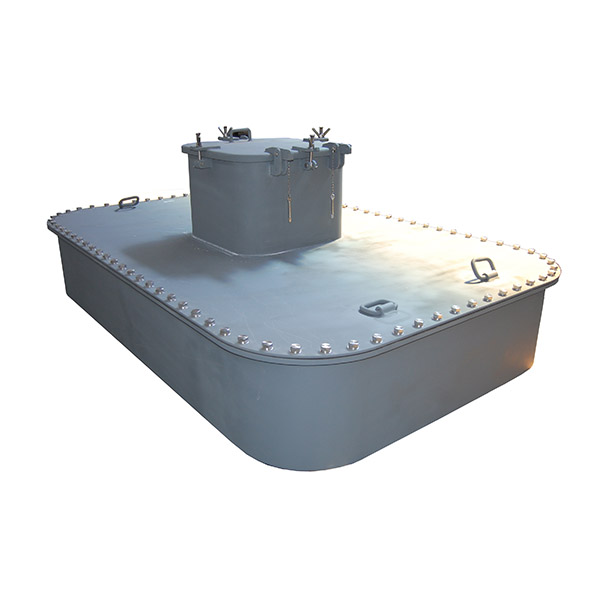 weathertight hatch cover with small cover